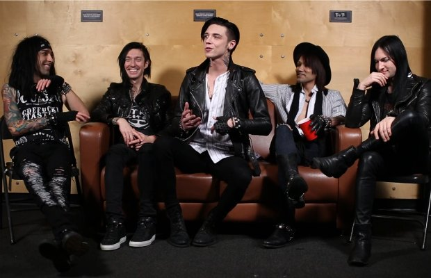 Black Veil Brides tell the story of how they met - Alternative Press