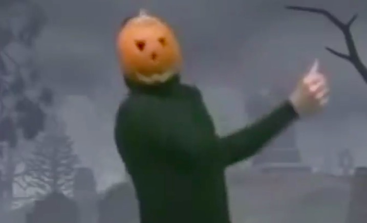 Dancing pumpkin losing it to My Chemical Romance, Bring Me The Horizon, Pierce The Veil is all of us - Alternative Press