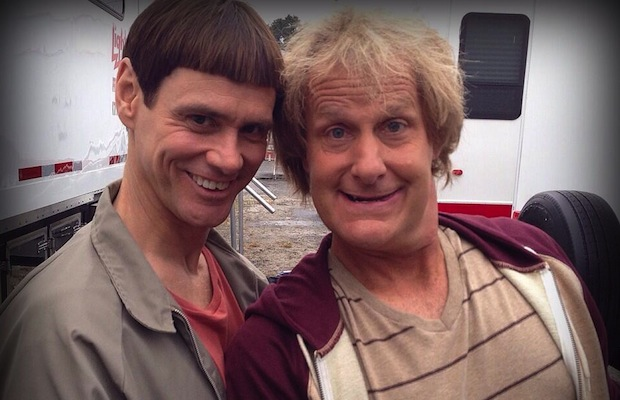 Jim Carrey, Jeff Daniels post first photos from set of 'Dumb And Dumber To' - Alternative Press