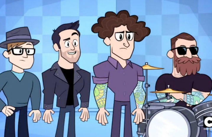 Fall Out Boy made a cameo on 'Teen Titans Go!' - Alternative Press