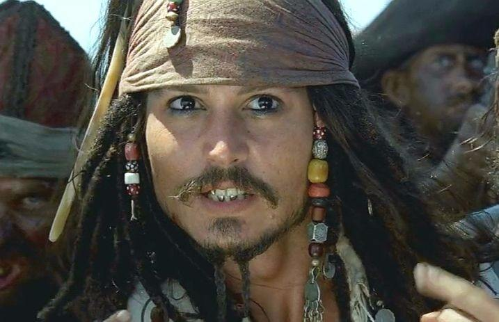 Someone watched 'Pirates of the Caribbean: The Curse of the Black