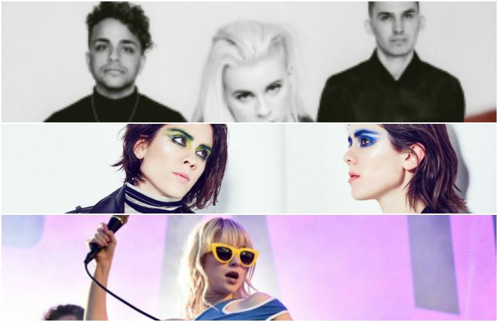 Paramore's Hayley Williams and PVRIS cover Tegan and Sara on