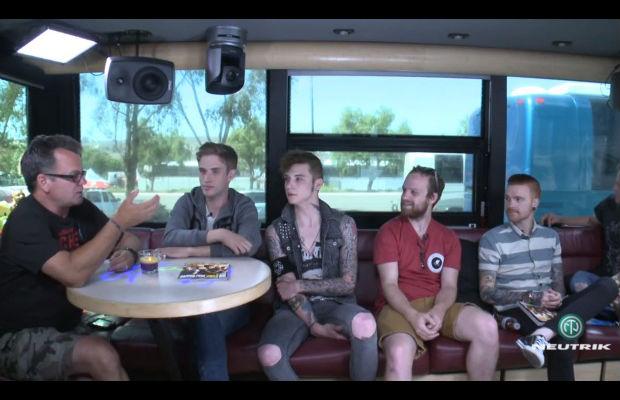 Warped Tour Live Chat: the Summer Set, Black Veil Brides, the Wonder Years, Memphis May Fire - Alternative Press