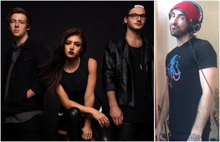 Looks like ATL's Alex Gaskarth could be on Against The Current's new album