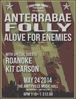 Anterrabae, Folly and Alove For Enemies announce reunion show - Alternative Press
