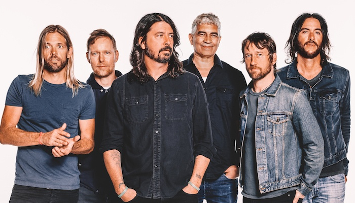 John Travolta joined Foo Fighters onstage for 'Grease' cover