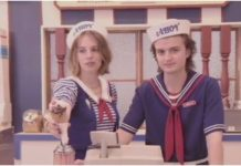 stranger things maya hawke joe keery
