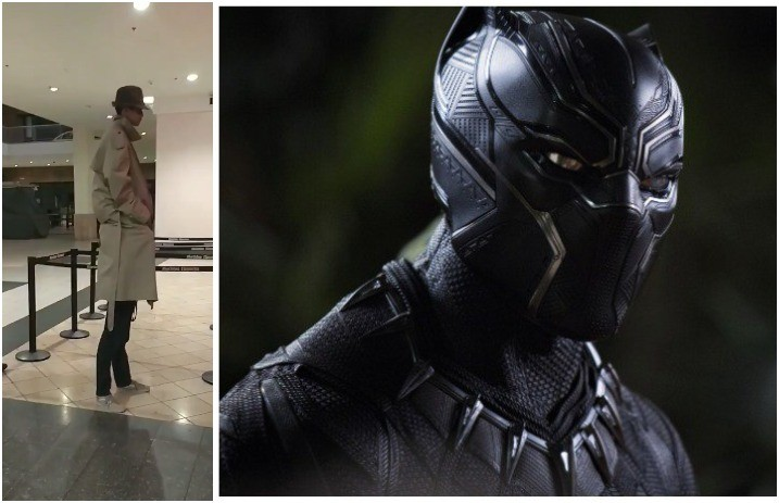 ad1d3df79 Two kids in trench coat tried sneaking into 'Black Panther,' it's  hilarious—watch - Alternative Press