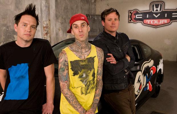 My Chemical Romance Tour >> Blink 182 My Chemical Romance Team Up For 2011 Honda Civic Tour