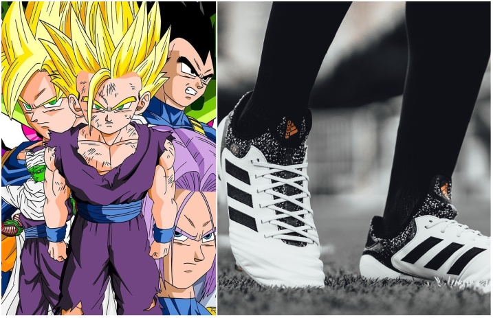 hot sale online e3297 2d27f Adidas x  Dragon Ball Z  collaboration rumored for 2018