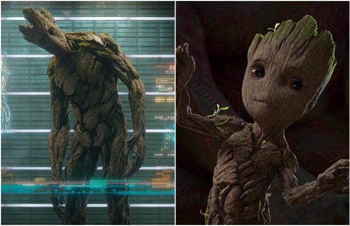 Guardians Of The Galaxy Director Says Baby Groot And Groot Are Not
