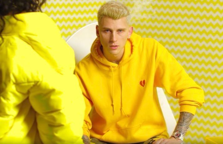 machine gun kelly wants to help you through a breakup with new music