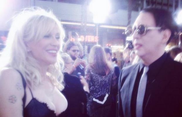 Marilyn Manson has some harsh words for Courtney Love - Alternative Press