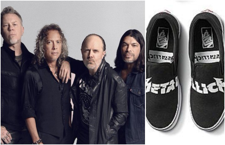 3cef9b257a Metallica team up with Vans for epic new shoes