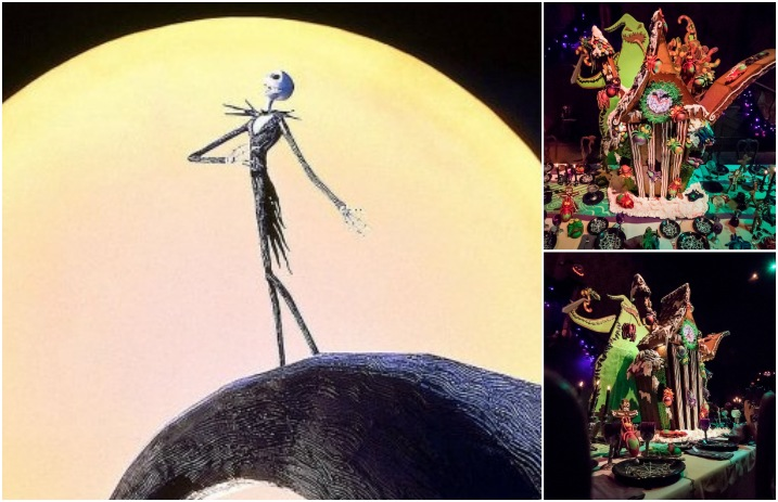 Nightmare Before Christmas Houses.This Nightmare Before Christmas Gingerbread House Is A