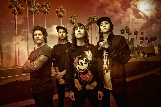 Reporting From Riot Fest: APTV interview with Pierce The Veil - Alternative Press