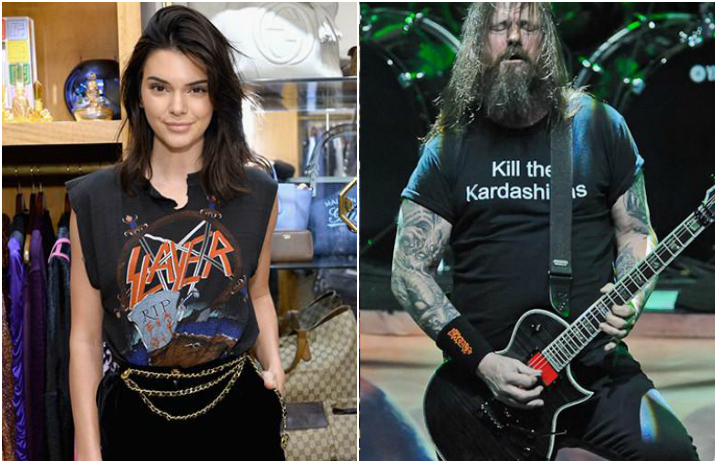 a8dee6239 Slayer's Gary Holt has some strong words about Kendall, Kylie and the  Kardashians
