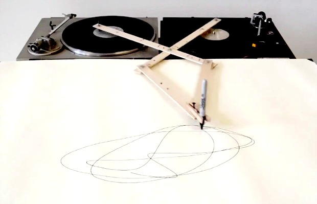 Spirograph record player hack turns music into visual art - Alternative Press
