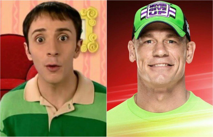 Steve From Blue S Clues Wants To Fight John Cena For