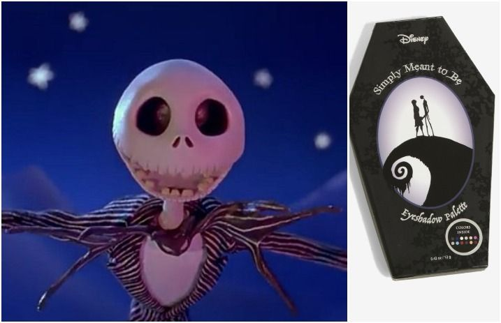 Theres A Nightmare Before Christmas Palette And The Shades Are