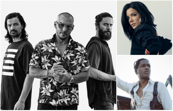 Thirty Seconds To Mars' new album features Halsey, A$AP
