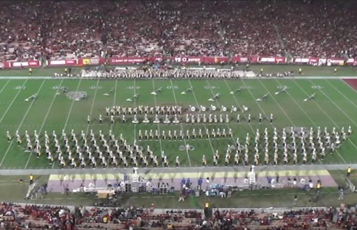 Watch UCLA's marching band perform Panic! At The Disco songs
