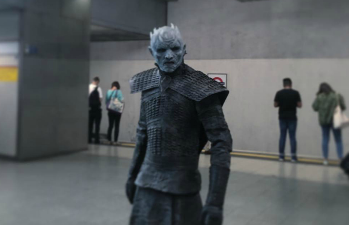game of thrones white walkers freak out british commuters