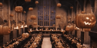 hogwarts harry potter halloween