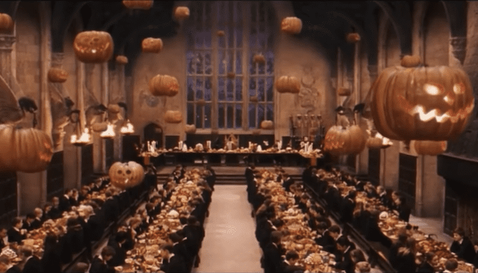 hogwarts harry potter halloween