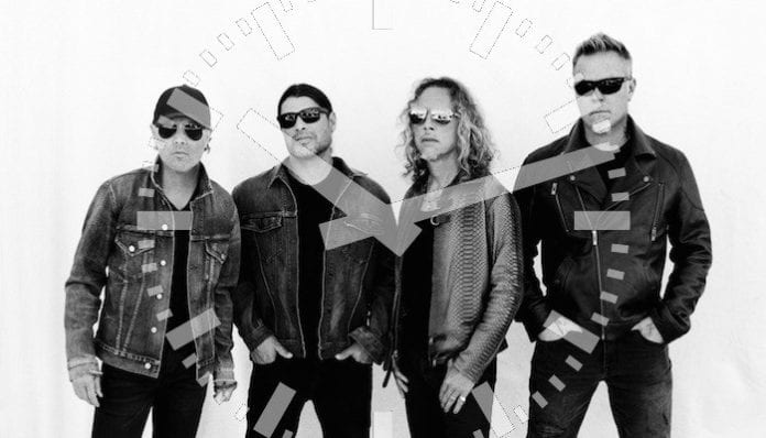 Metallica are teaming up with Nixon for a line of watches.