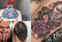 20 tattoos of our favorite villains that you need to see