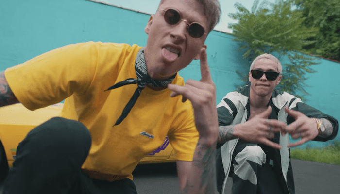 Machine Gun Kelly Makes Comedy Debut After Losing Bet With Pete Davidson