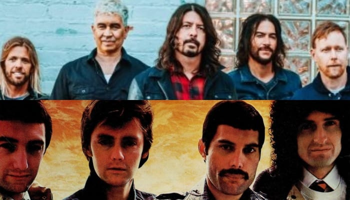 watch foo fighters cover queen under a fake name at cal jam pop ip