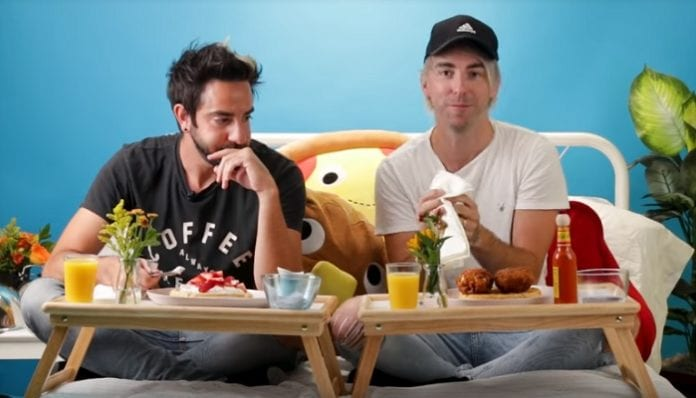 All Time Low's Alex Gaskarth and Jack Barakat on Tasty