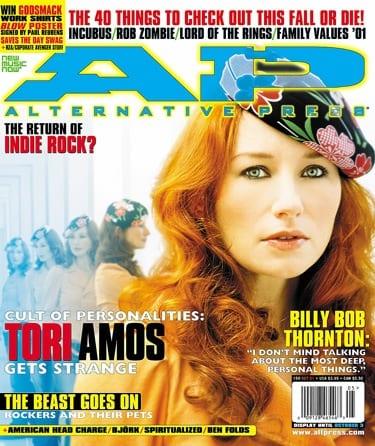 Tori Amos, Issue #159, October 2001