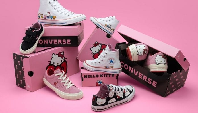 Hello Kitty x Converse