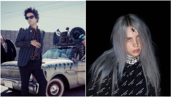 Green Day's Billie Joe Armstrong is jacking Billie Eilish's look