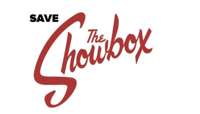 Save The Showbox Letter