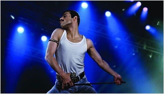 Watch Rami Malek perform a Queen classic in 'Bohemian Rhapsody' clip