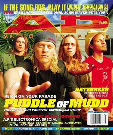 Puddle Of Mudd, Issue #166, May 2002