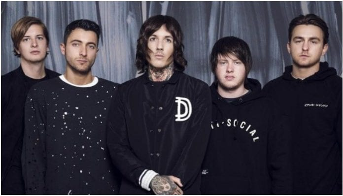 Bring Me The Horizon's cryptic album teasing has reached the U.S.
