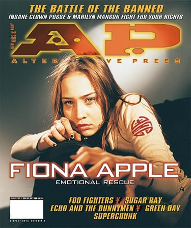 Fiona Apple, Issue #111, October 1997