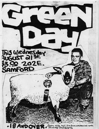 10 concert posters from your favorite bands before they blew up