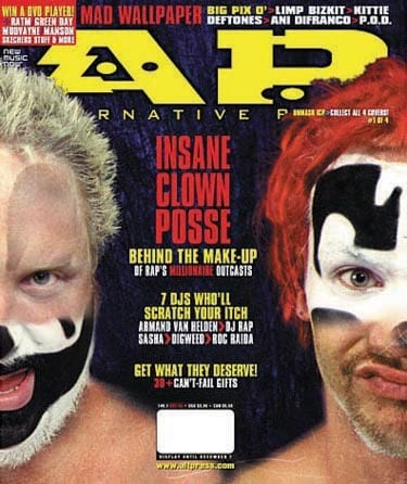 Insane Clown Posse, Issue #149, December 2000