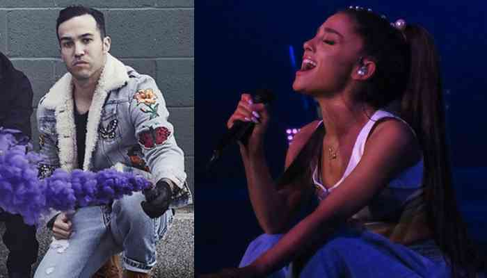 e8ccdb44f43f Pete Wentz praises Ariana Grande s album and her reaction is all of us