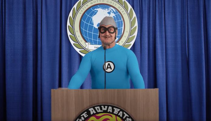 Aquabats MC Bat Commander