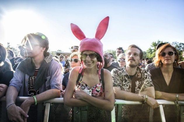 Riot Fest Sun Crowd