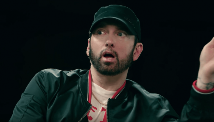 Eminem regrets homophobic slur in diss track to Tyler the Creator