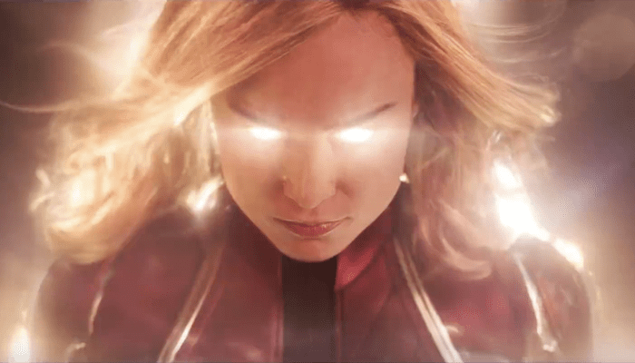 'Captain Marvel' fan holds record for most times seeing a movie in theaters