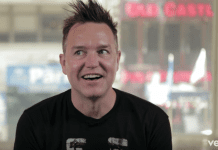 Mark Hoppus caught something extra special this weekend